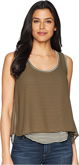 B Collection by Bobeau Sydney Stripe Tank Top