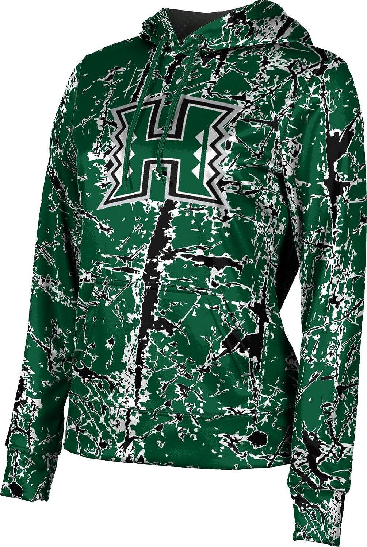 ProSphere University of Hawaii Girls' Pullover Hoodie, School Spirit Sweatshirt (Distressed)