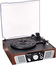 Sylvania SRC831 3-Speed Turntable with Built-in Speakers, and USB encoding