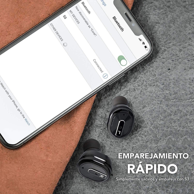 Miluo Tech Auriculares Bluetooth Inalámbricos, TWS 5,0 Auriculares ...
