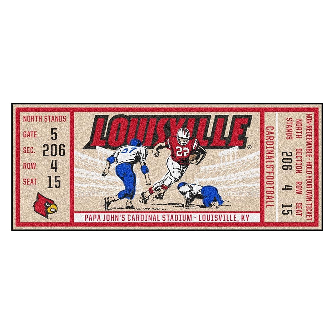 早熟マザーランドパトロールFanmats University of Louisville One Size ブラック