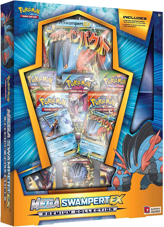 Pokémon POKMXSWPBLZBX TCG  Mega BoxSwampert EX Pound Game, bluee