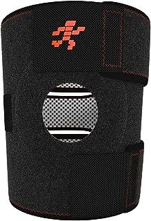 Uflex Best Knee Brace & Support Open Patella,One Size Adjustable, Neoprene Sports Compression, relieves Joint Pain and Treats Arthritis, Acl Tear, Meniscus Tear, Tendonitis, Bonus Ankle Brace