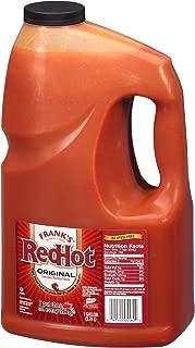 Frank's RedHot Original Cayenne Pepper Sauce, 128 Fl Oz (Pack of 1)