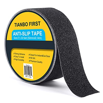 TIANBO FIRST Anti Slip Tape 2 Inch X 30 Foot, S...