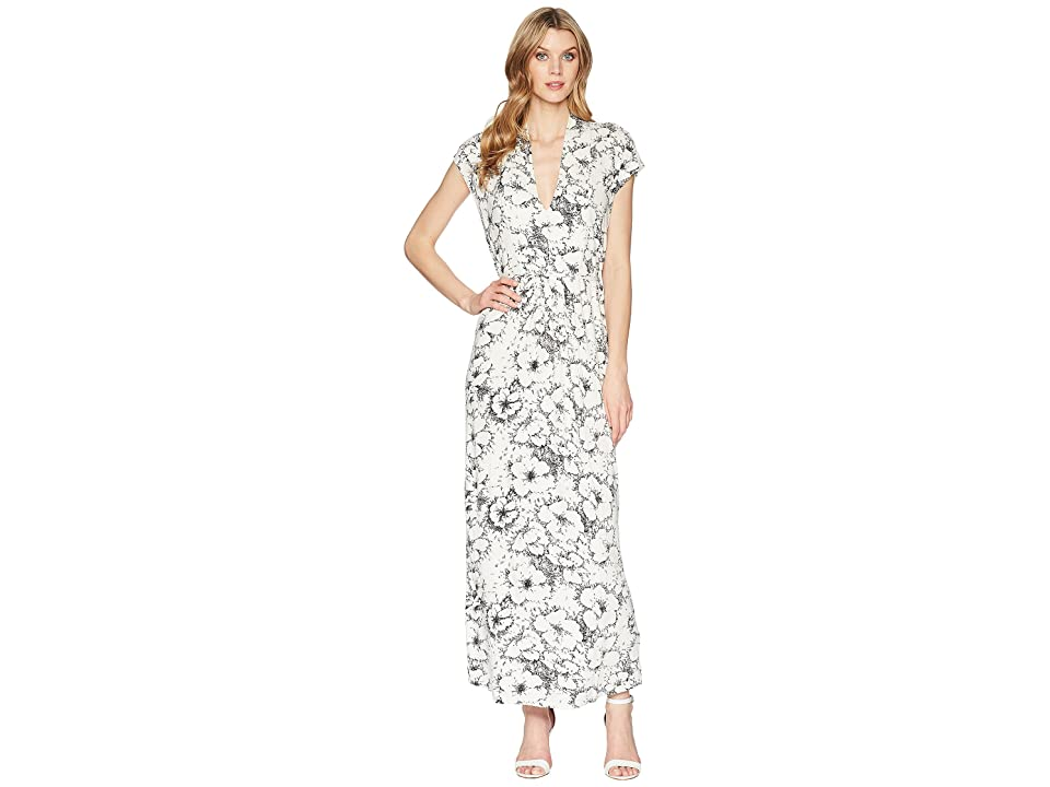 Lucky Brand Printed Rib Dress (Multi) Women