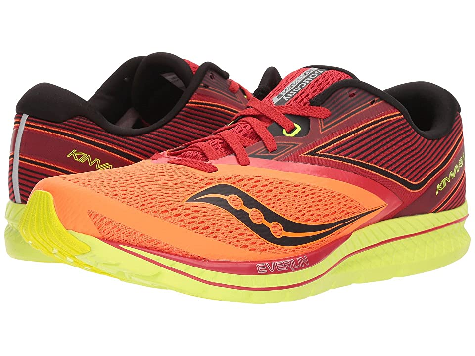 Saucony Kinvara 9 (Orange/Red/Black) Men