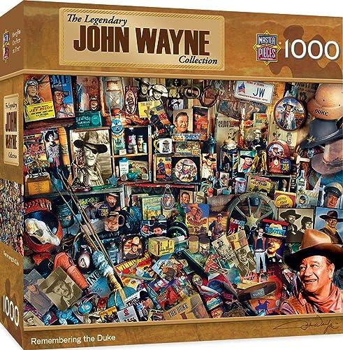 Meisterwerke Puzzle Company John Wayne America 's Cowboy Puzzle