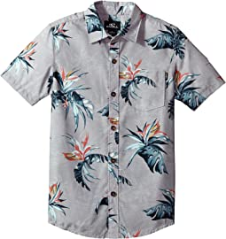 O'Neill Kids - Islander Short Sleeve Woven Top (Big Kids)