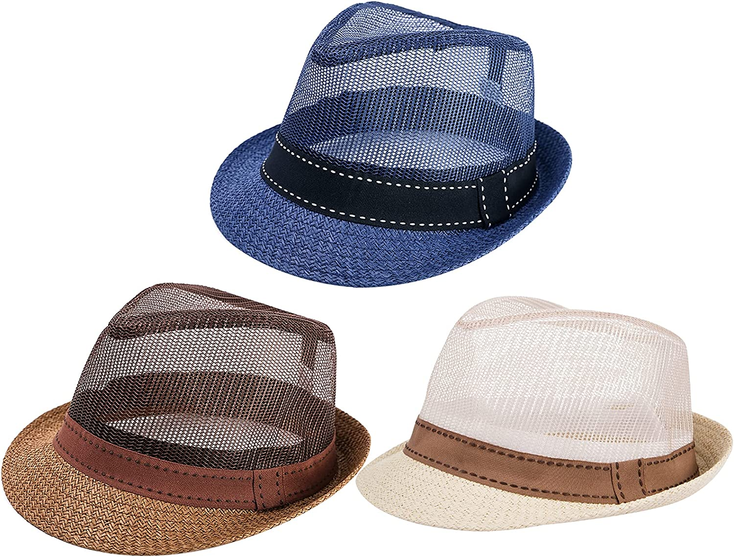 3 Packs Breathable Mesh Max 83% OFF Many popular brands Top Sun Ventilated Hat- Unisex