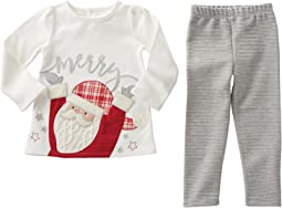 Mud Pie - Santa Tunic & Leggings Set (Infant/Toddler)