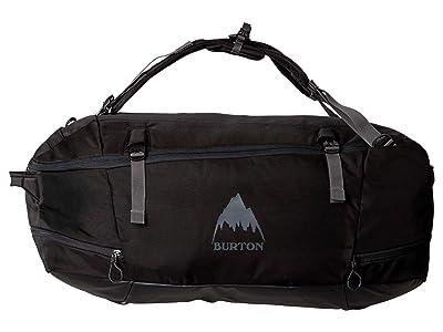 Burton Multipath Duffel 90L (True Black Ballistic) Duffel Bags