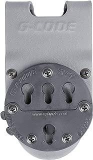 G-CODE RTI Optimal Drop Pistol Platform-GCA 200- (Grey) 100% Made in The USA (1153-7G)