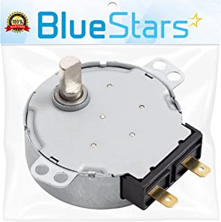Ultra Durable WB26X10038 Microwave Turntable Motor Replacement Part by Blue Stars - Exact Fit for GE & Kenmore Microwaves - Replaces AP2024962 PS237772