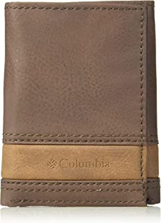Columbia Men's RFID Trifold Wallet, Brown, One Size