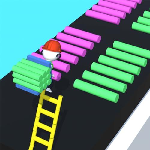 Ladder Stair Run - Climb Ladders & Race