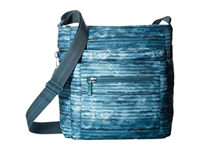 Hedgren Orva RFID Shoulder Bag (Aqua Print) Shoulder Handbags