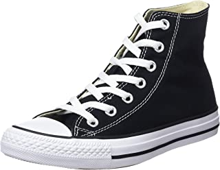 Converse Chuck Taylor High Top Unisex Sneakers, Black/White