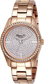 Kenneth Cole New York Women's Quartz  Stainless Steel Case  Stainless Steel Bracelet  Rose Gold,(Model:,KC4958)