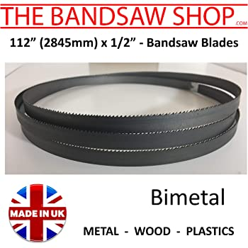 Bandsaw Blade 1 for Startrite 351S//351E//351SE//352//352S-2845mm 112 inch long