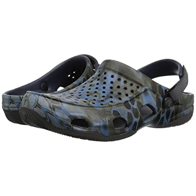 Crocs Swiftwater Kryptek Neptune Deck Clog (Navy) Men