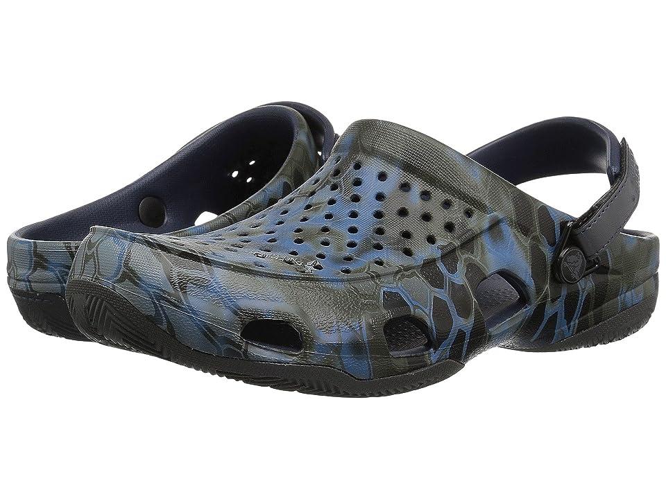 Crocs Swiftwater Kryptek Neptune Deck Clog (Navy) Men