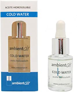 Ambientair HD015CWAA - Aceite hidrosoluble, aroma cold water, 15 ml