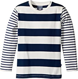 Toobydoo - Nautical Stripe Tee (Toddler/Little Kids/Big Kids)