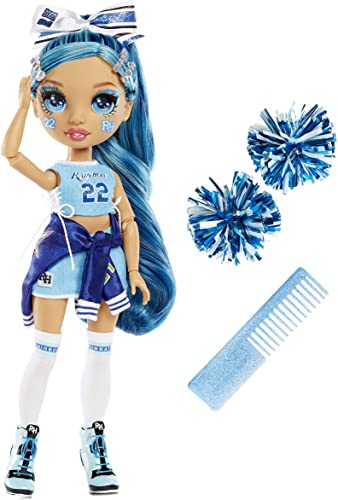 discount Rainbow High Cheer Skyler Bradshaw – Blue Cheerleader Fashion Doll popular with Pom Poms wholesale and Doll Accessories, Great for Kids 6-12 Years Old outlet sale