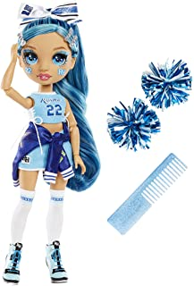 Rainbow High Cheer Skyler Bradshaw – Blue Cheerleader Fashion Doll with Pom Poms and Doll Accessories, Great for Kids 6-12...