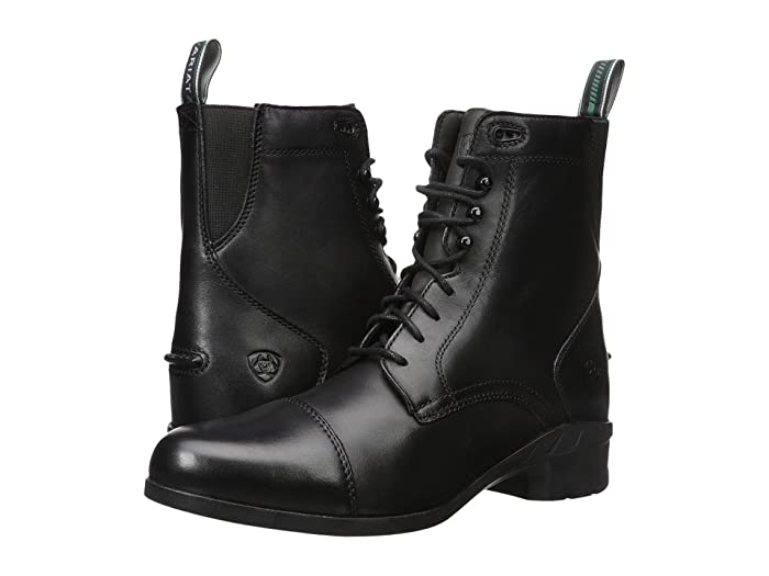 Ariat  Heritage IV Paddock (Black) Womens Lace-up Boots