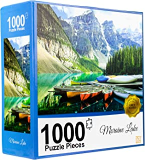 Memorable Fantastic Present for Friends Home Decoration 5.1x 7.7 inch Wooden Jigsaw Puzzles- Unique Eagle Shape Nature Themed Puzzles Set Fun for Adults and Kids Intelligence-Promoting Puzzles