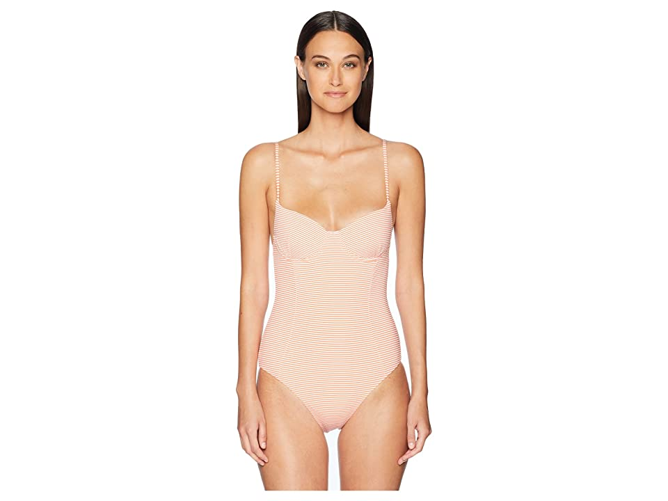 onia Isabella One-Piece (Sunrise/White) Women