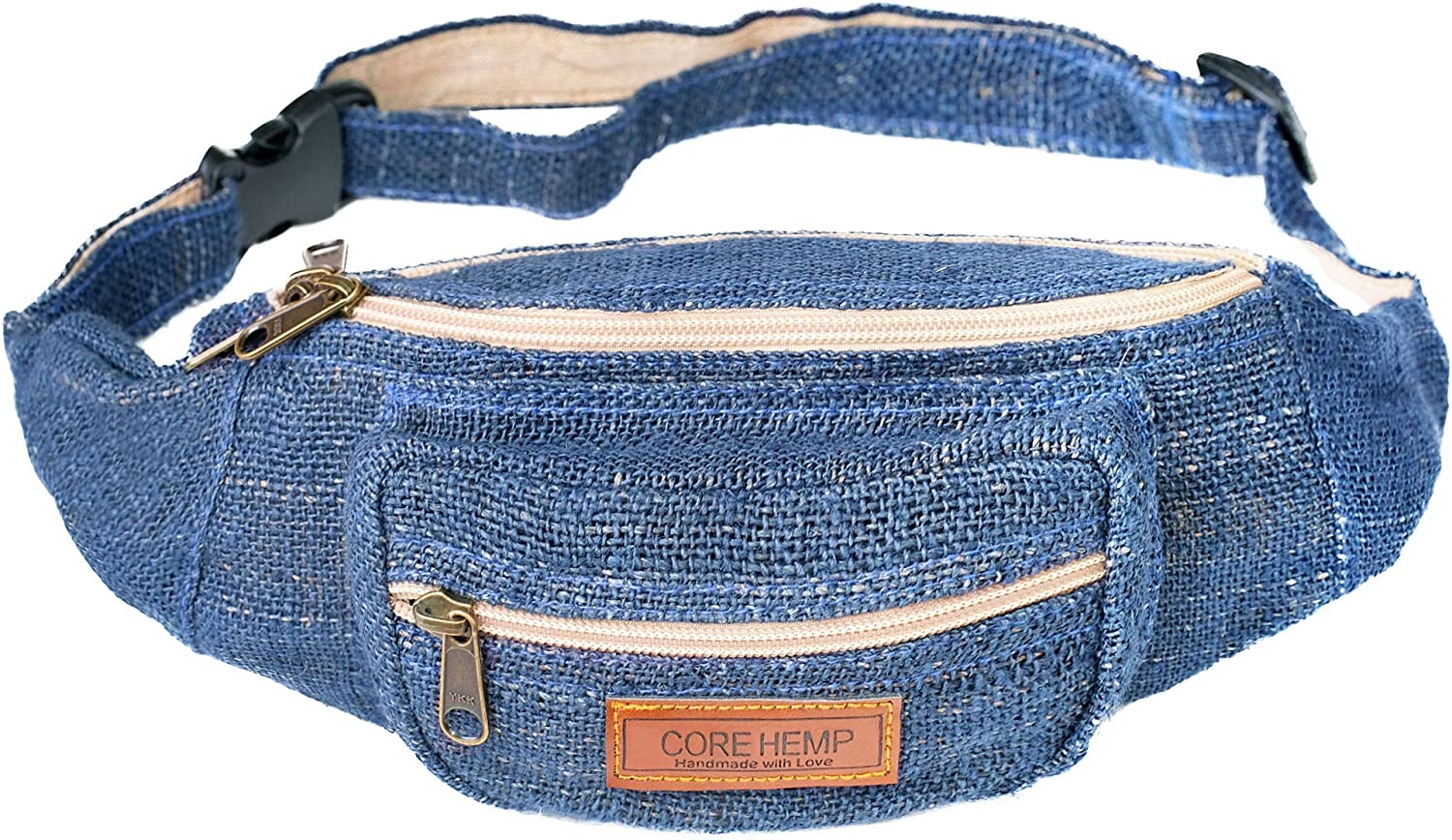 Men /& Women Hip Money Belt For Travel /& Hiking Hippy//Sling//Stylish 80s//Stripe Boho Fanny Pack Waist Bag With Adjustable Belt For Men /& Women Festival Hemp Fanny Pack