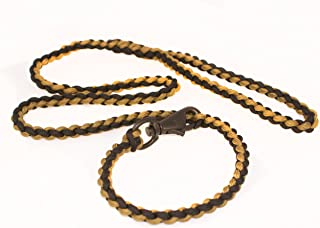 paracord cobra weave dog leash