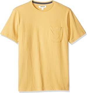 Amazon Brand - Goodthreads Men's Short-Sleeve Sueded Jersey Crewneck Pocket T-Shirt