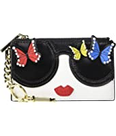 Alice + Olivia - Regina Staceface Butterfly Card Case
