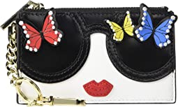 Regina Staceface Butterfly Card Case