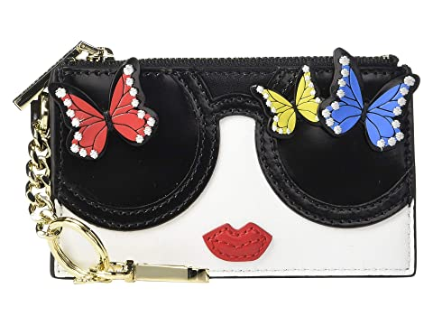 Alice + Olivia Regina Staceface Butterfly Card Case