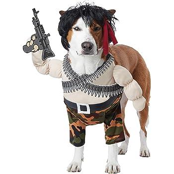 California Costumes Pet Action Hero Dog Costume Costume