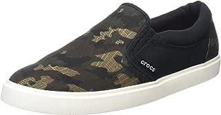 Crocs Men's Citilane Graphic Slipon Sneak Flat