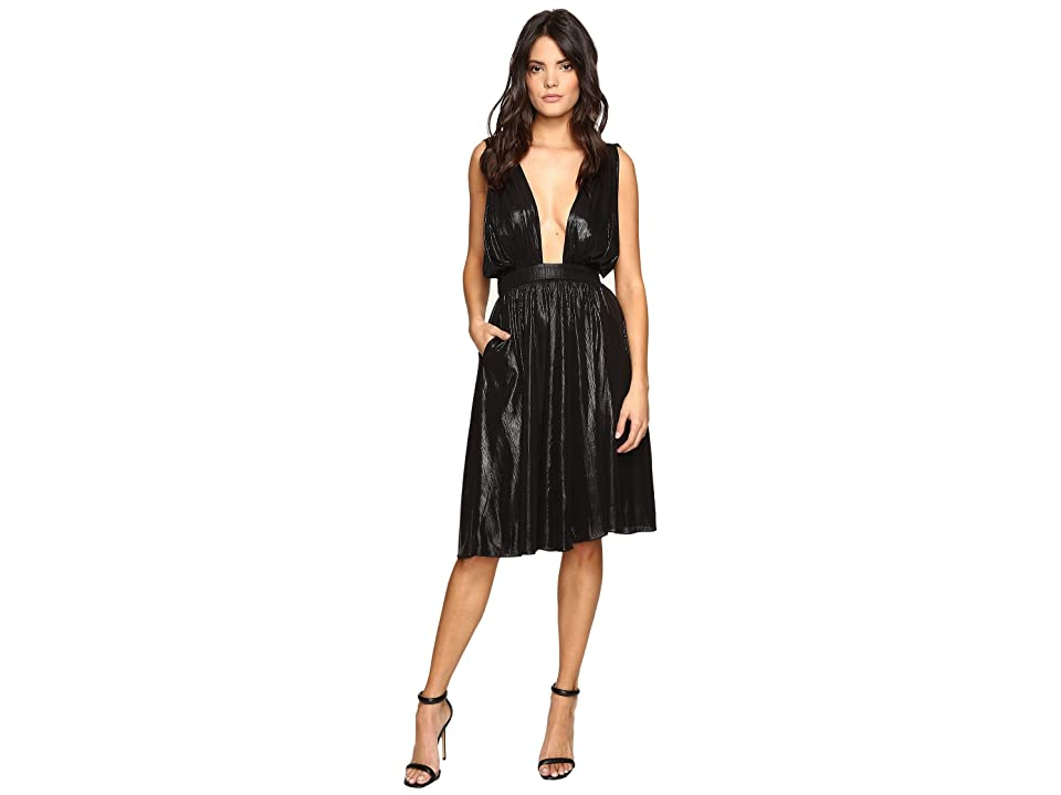 Rachel Antonoff Lauren Dress (Black Shimmer) Women