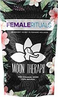 Female Rituals - Moon Therapy (2 Ounce) - Yoni Steam Herbs for Cleansing - Yoni Wash Detox - Use with Our Yoni Steam Seat ...