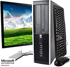 "HP Elite Desktop, Intel Core 2 Duo Processor, 8 GB RAM, 500 GB Hard Drive, DVD-ROM, Wi-Fi, Windows 10 Home, 19"" LCD Monito..."
