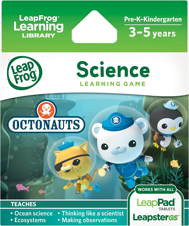 LeapFrog - Octonauts Wissenschafts Lernspiel (Englische Sprache) [UK Import]
