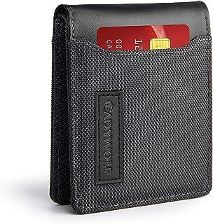 CADYWOLF Slim Wallets for Men, RFID Wallet with Money clip, Men's Wallet, Credit Card Holder for Men (GRAY)