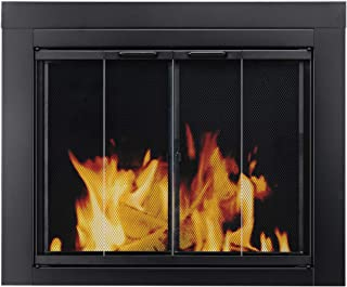majestic glass fireplace doors
