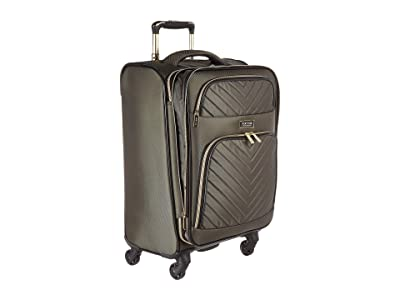 Kenneth Cole Reaction Chelsea 20 Quilted Expandable 4-Wheel Upright Carry On (Olive) Luggage