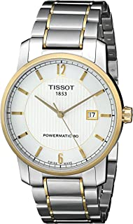 Tissot Men's T0874075503700 T-Classic Analog Display Swiss Automatic Silver Watch