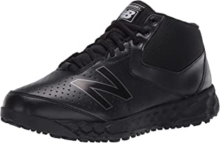 New Balance Men's 950V3 Mid-Cut Baseball Shoe, Black/Black, 16 D US